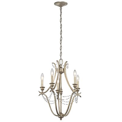 Cleaton 5-Light Candle-Style Chandelier