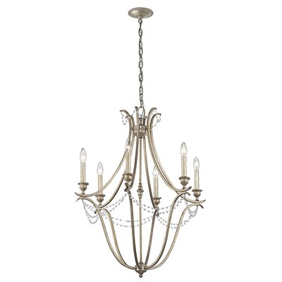 Cleaton 6-Light Candle-Style Chandelier