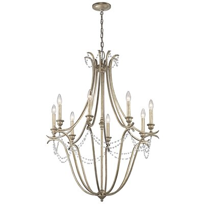 Cleaton 8-Light Candle-Style Chandelier