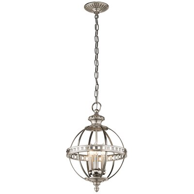 Halleron 3-Light Mini Pendant Finish: Classic Pewter