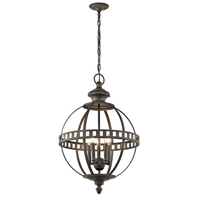 Halleron 6-Light Pendant Finish: Olde Bronze