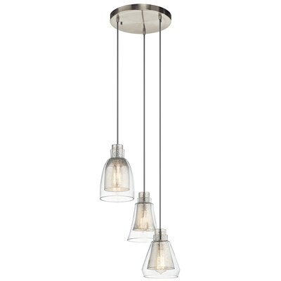 Perot 3-Light Mini Pendant