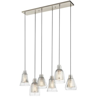 Perot 6-Light Cascade Pendant