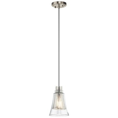 Perot Transitional 1-Light Mini Pendant