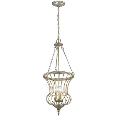 Badgley 3-Light Foyer Pendant