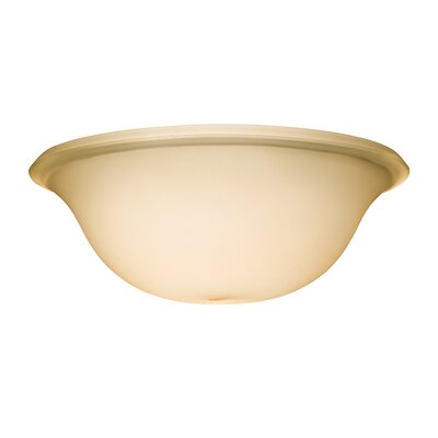 Umber  11 Glass Ceiling Fan Bowl Shade