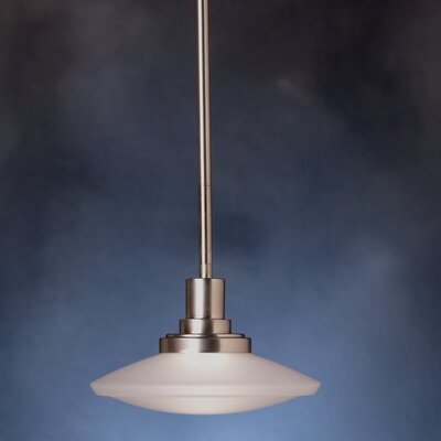 Masontown 1-Light Steel Mini Pendant Finish: Brushed Nickel