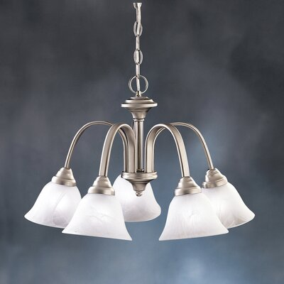 Hastings 5-Light Shaded Chandelier