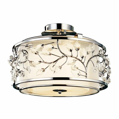 Jardine 3-Light Semi Flush Mount