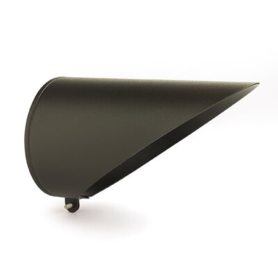 Long Cowl Accessory  for Display Light in Architectural Bronze