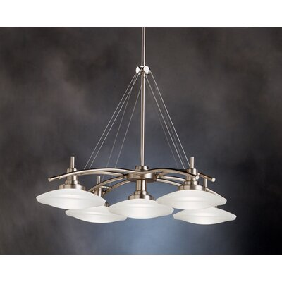 Masontown 5-Light Shaded Chandelier