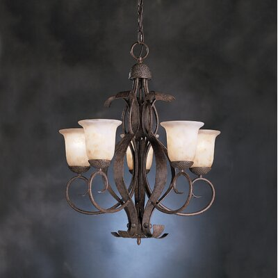 High Country 5 Light Indoor Chandelier
