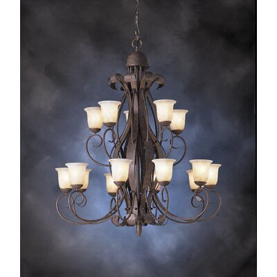 High Country Indoor 15 Light Chandelier