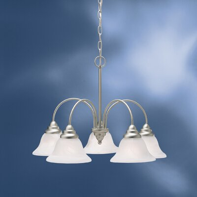 Ruhlman Traditional 5-Light Shaded Chandelier