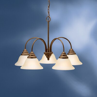 Ruhlman 5-Light Shaded Chandelier