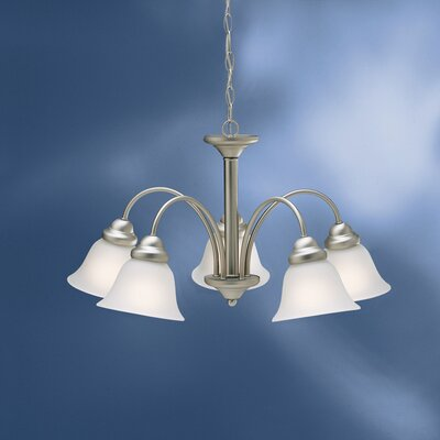 Barnstormer Traditional 5-Light Shaded Chandelier