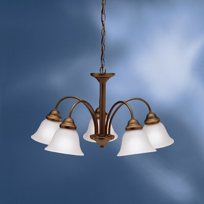 Barnstormer 5-Light Shaded Chandelier