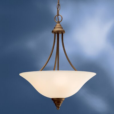 Ruhlman 3-Light Inverted Pendant Finish: Olde Bronze