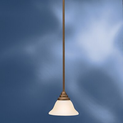 Ruhlman 1-Light Mini Pendant Finish: Olde Bronze