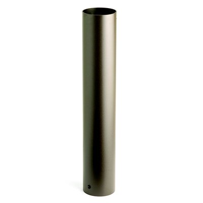 HID Bollard Mounting Kit in Textured Black Size: 24 H x 4 W