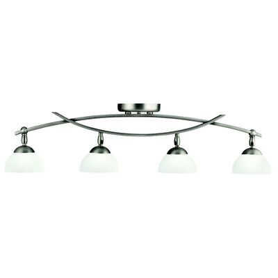 Bellamy 4-Light Semi Flush Mount Finish: Antique Pewter