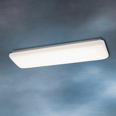 2-Light Flush Linear Strip Light