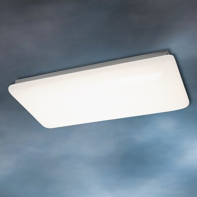 Railyard 4-Light Flush Strip Light