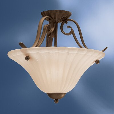 Bafford 1-Light Semi Flush Mount