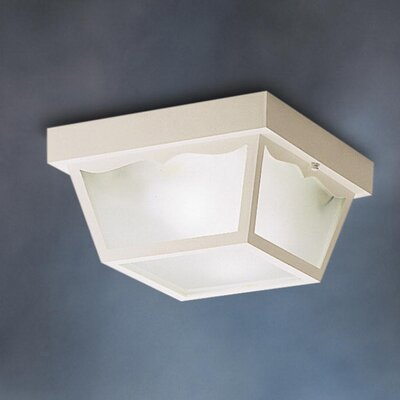Mulgrave 2-Light Flush Mount Finish: White