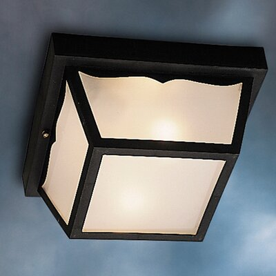 Mulgrave 1-Light Flush Mount Finish: Black