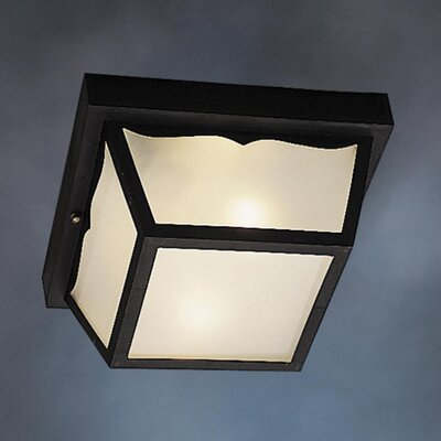 Mulgrave 2-Light Flush Mount Finish: Black