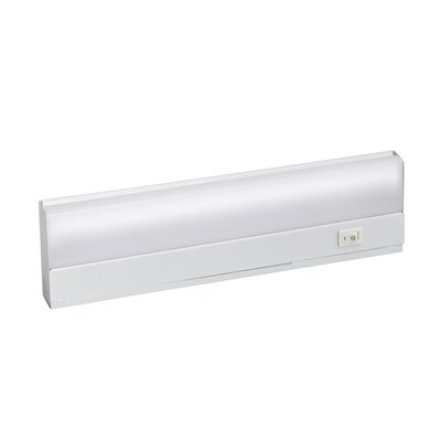 Fluorescent Under Cabinet Bar Light Size: 1 H x 12 W x 3.5 D