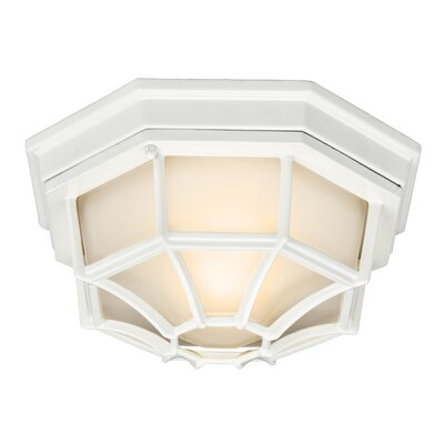 Mulgrave 1-Light Flush Mount Finish: White