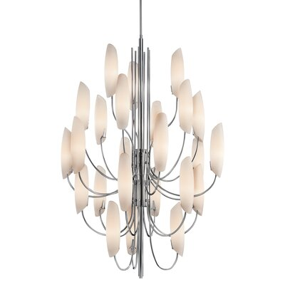 Stella 24-Light Sputnik Chandelier