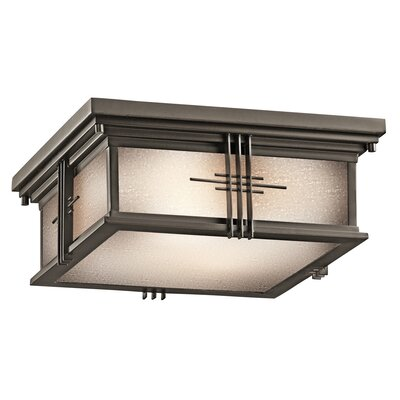 Portman Square Flush Mount Finish: Olde Bronze