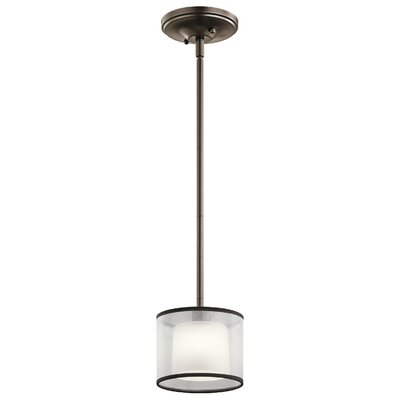 Prall 1-Light Mini Pendant Finish: Mission Bronze