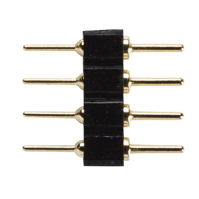 Accessory LED Tape Inline Splice (Set of 5) Finish: Black