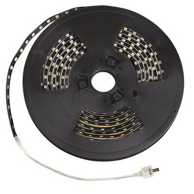 LED Tape Finish: Black, Bulb Color: Yellow, Size: 20