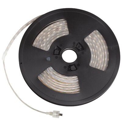 LED Tape Finish: White, Bulb Color: Green, Size: 10