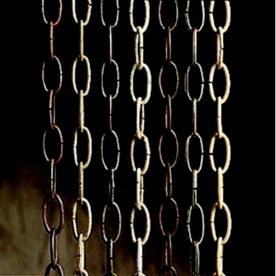 36  Outdoor Accessory Chain Finish: Black