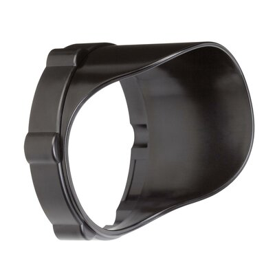 Landscape Snap on Cowl in Textured Arch Bronze Polycarb Size: Short, Finish: Textured Black Polycarbonate
