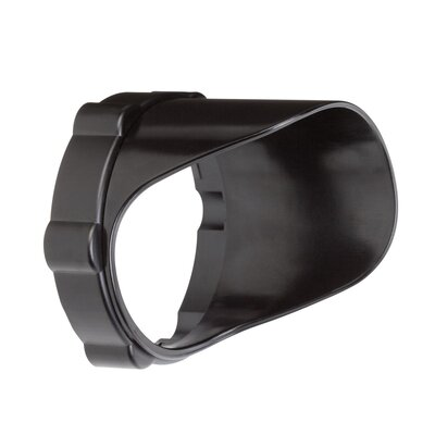 Landscape Snap on Cowl Size: Short, Finish: Textured Black Polycarbonate
