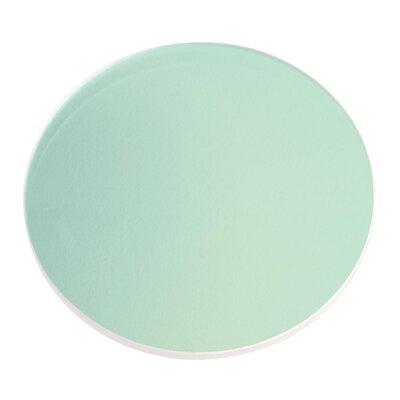 Landscape Lens Size: 0.08 H x 2.95 W x 2.95 D, Finish: Green
