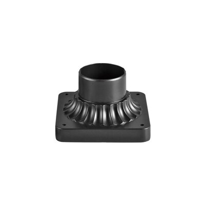 Pedestal Mount Finish: Black