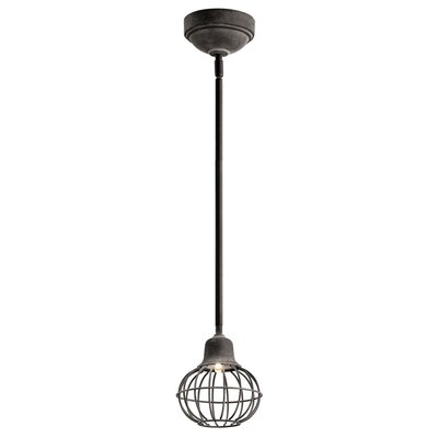 Braddy Light Mini Pendant Finish: Weathered Zinc