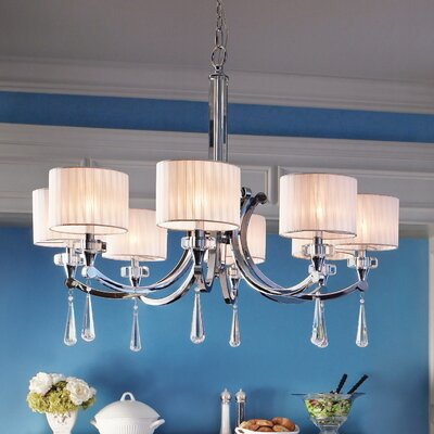 Parker Point 8-Light Shaded Chandelier
