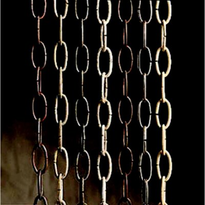 Standard Gauge Accessory Chain Finish: Midnight Chrome