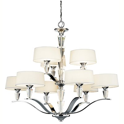 Brookefields 9-Light Drum Chandelier