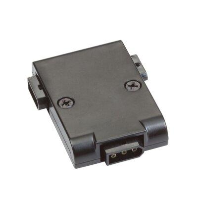 Modular LED T Power Connect Finish: Black