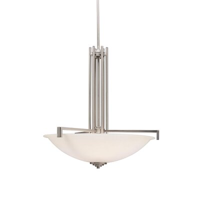 Misty 4-Light Inverted Pendant Finish: Brushed Nickel